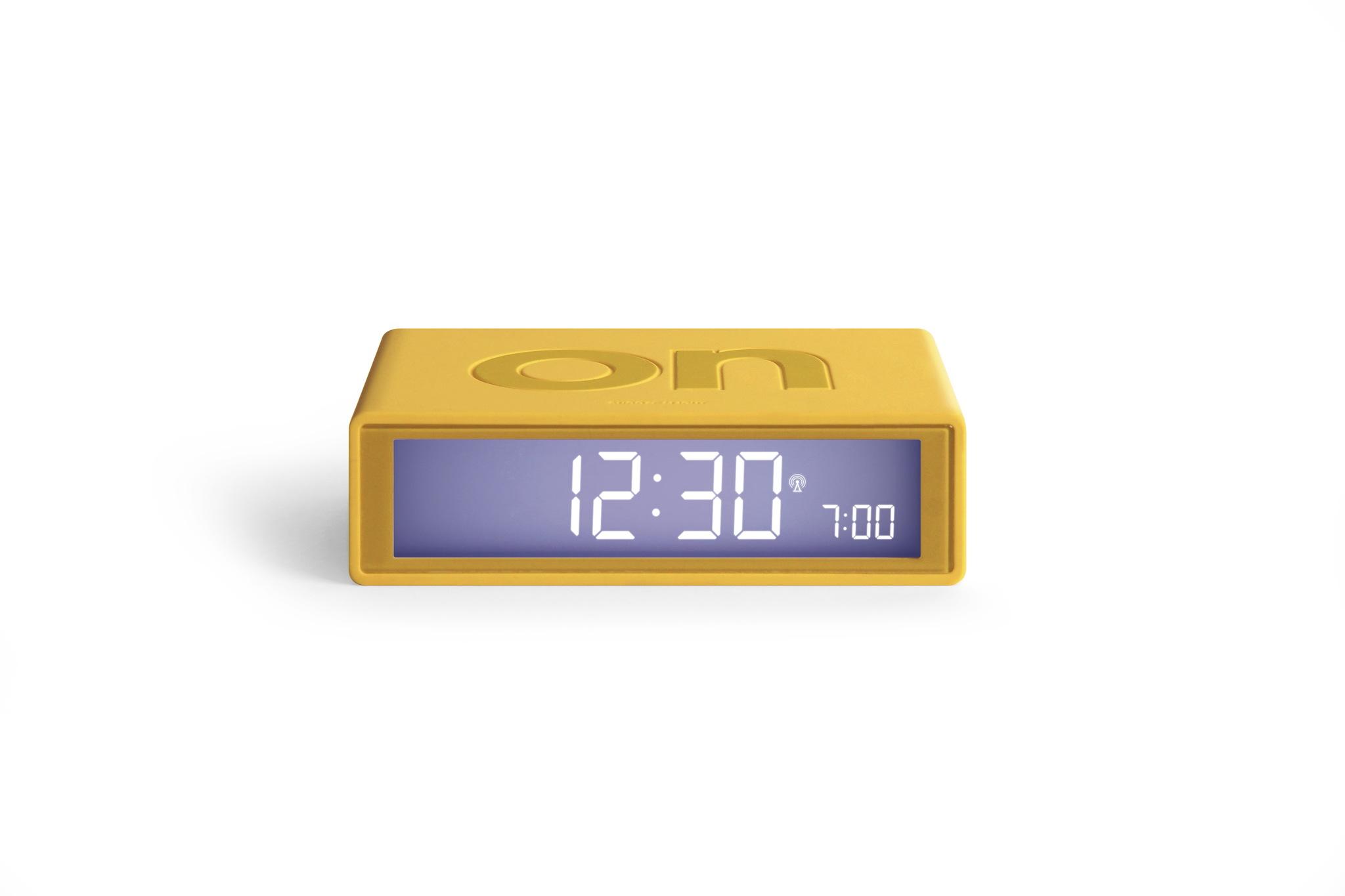 gelb, funkgesteuert, LCD Display, snooze