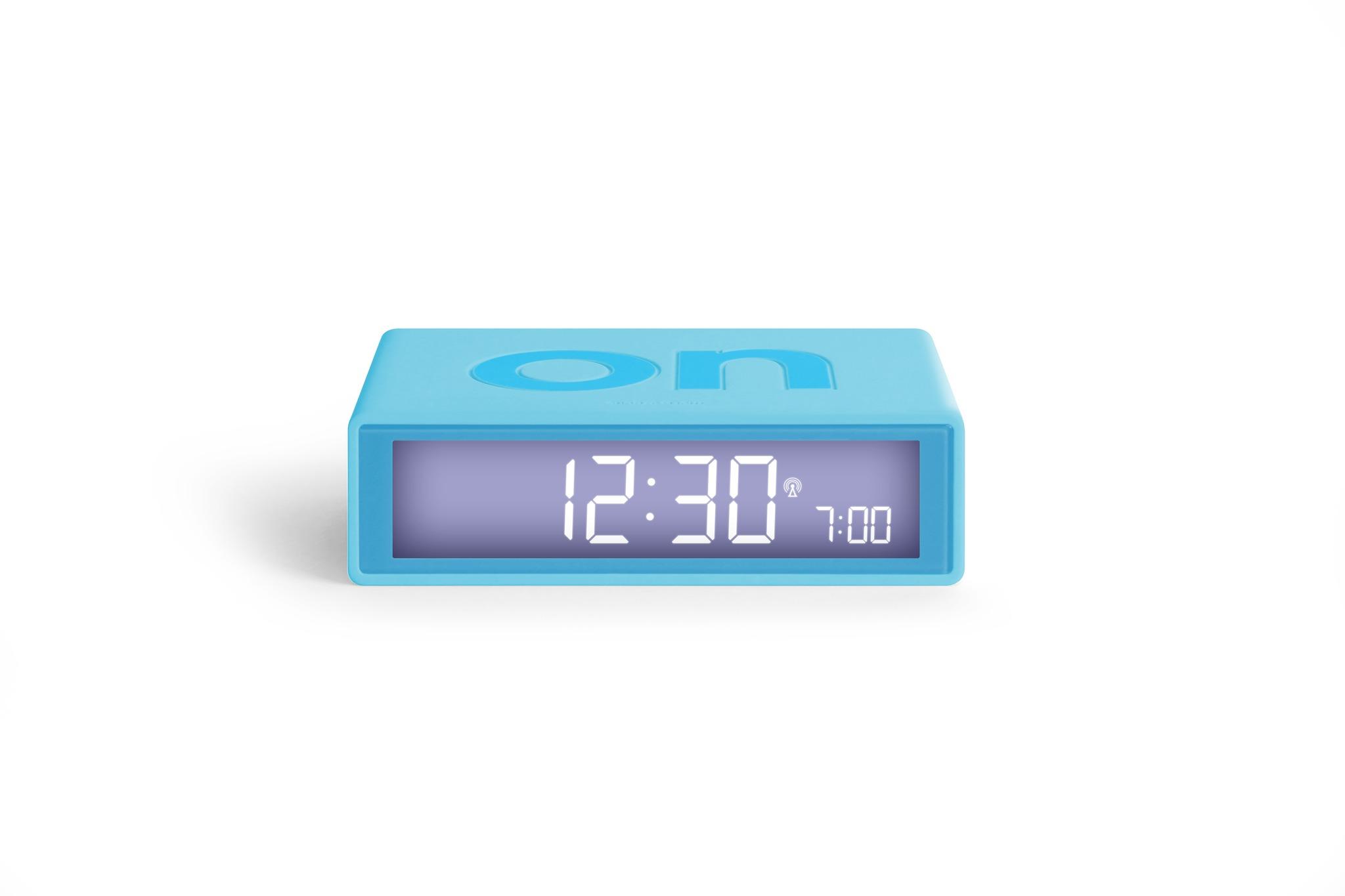 türkis, funkgesteuert, LCD Display, snooze