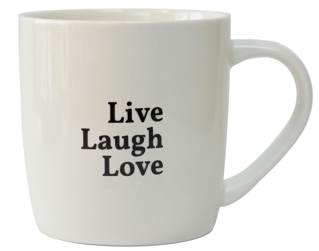 Tasse - Live Laugh Love