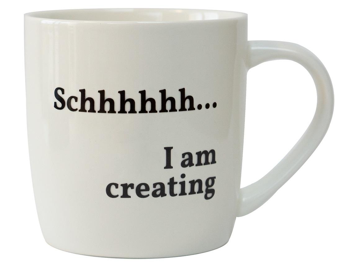 Tasse - Schhhhh … I am creating