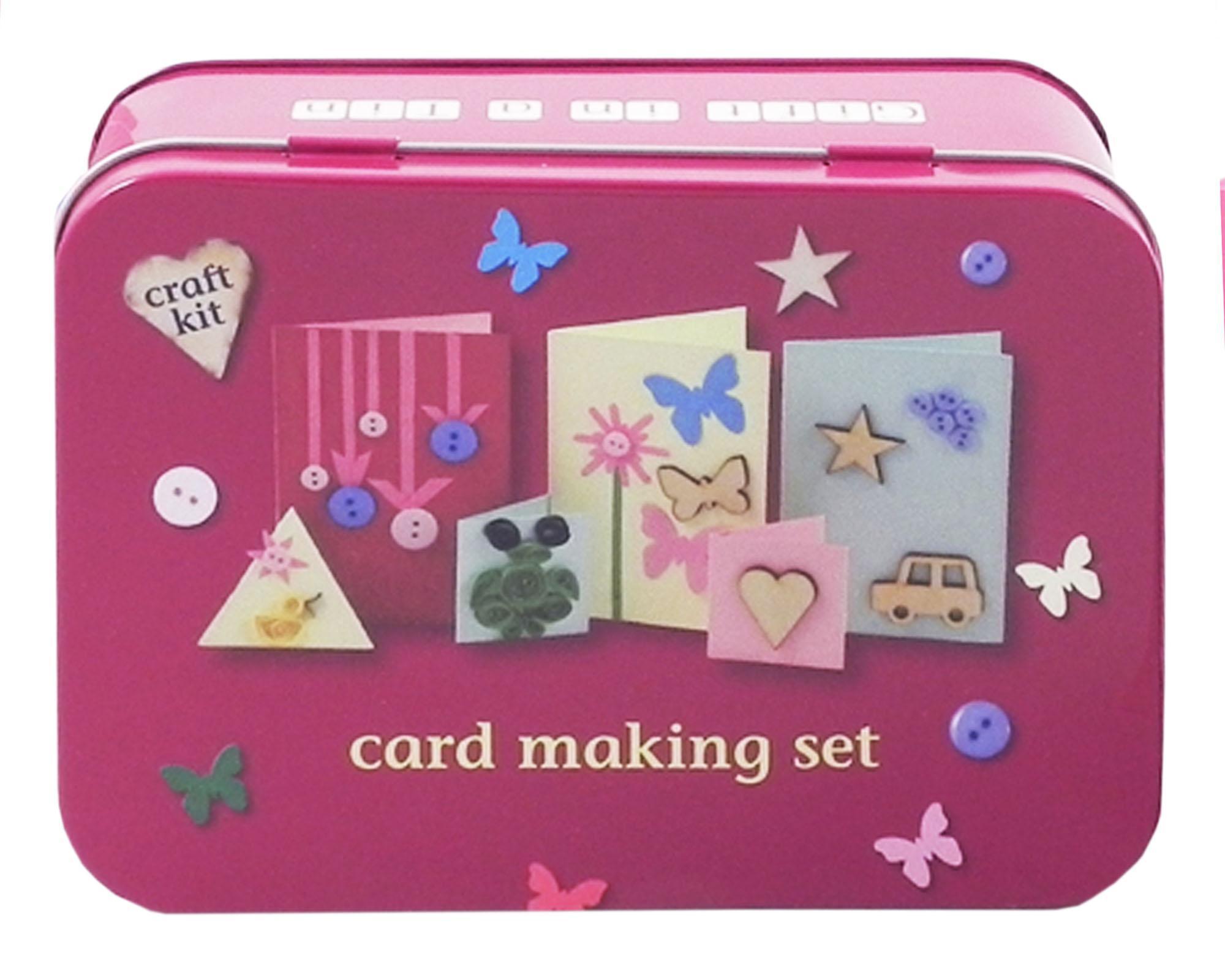 Gift in a Tin - Card Making Set - Geschenkbox