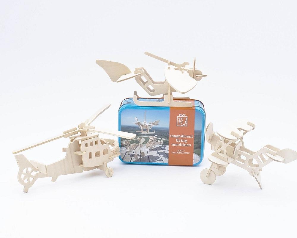 Gift in a Tin - Magnificent Flying Machines - Geschenkbox