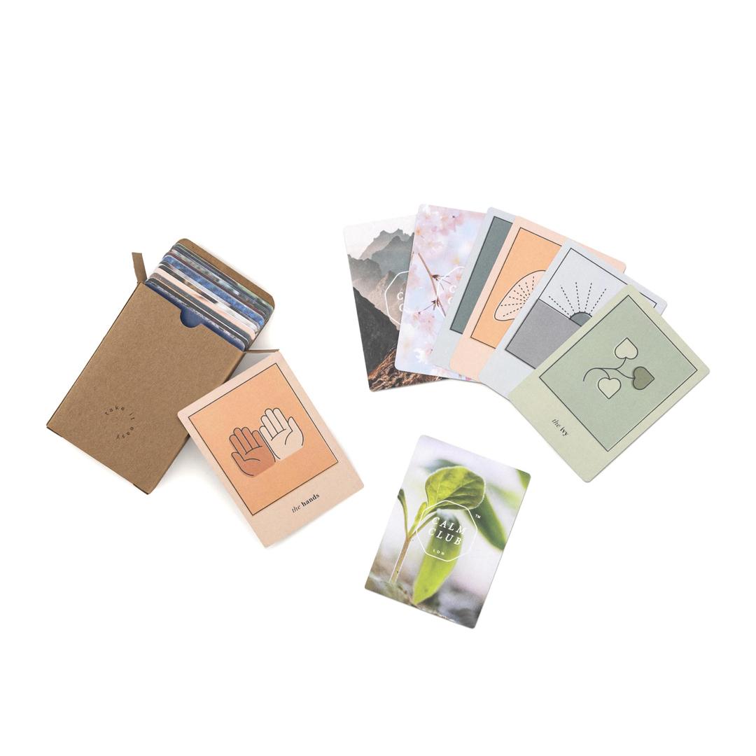 42 Tarotkarten, papier