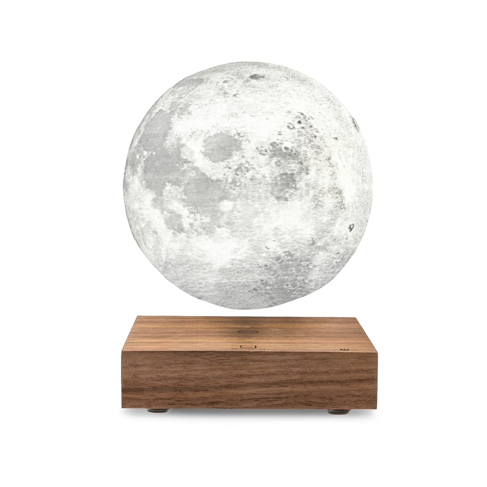 Walnut, 3D Mond, 3 Licht-Varianten, AD Adapter ink