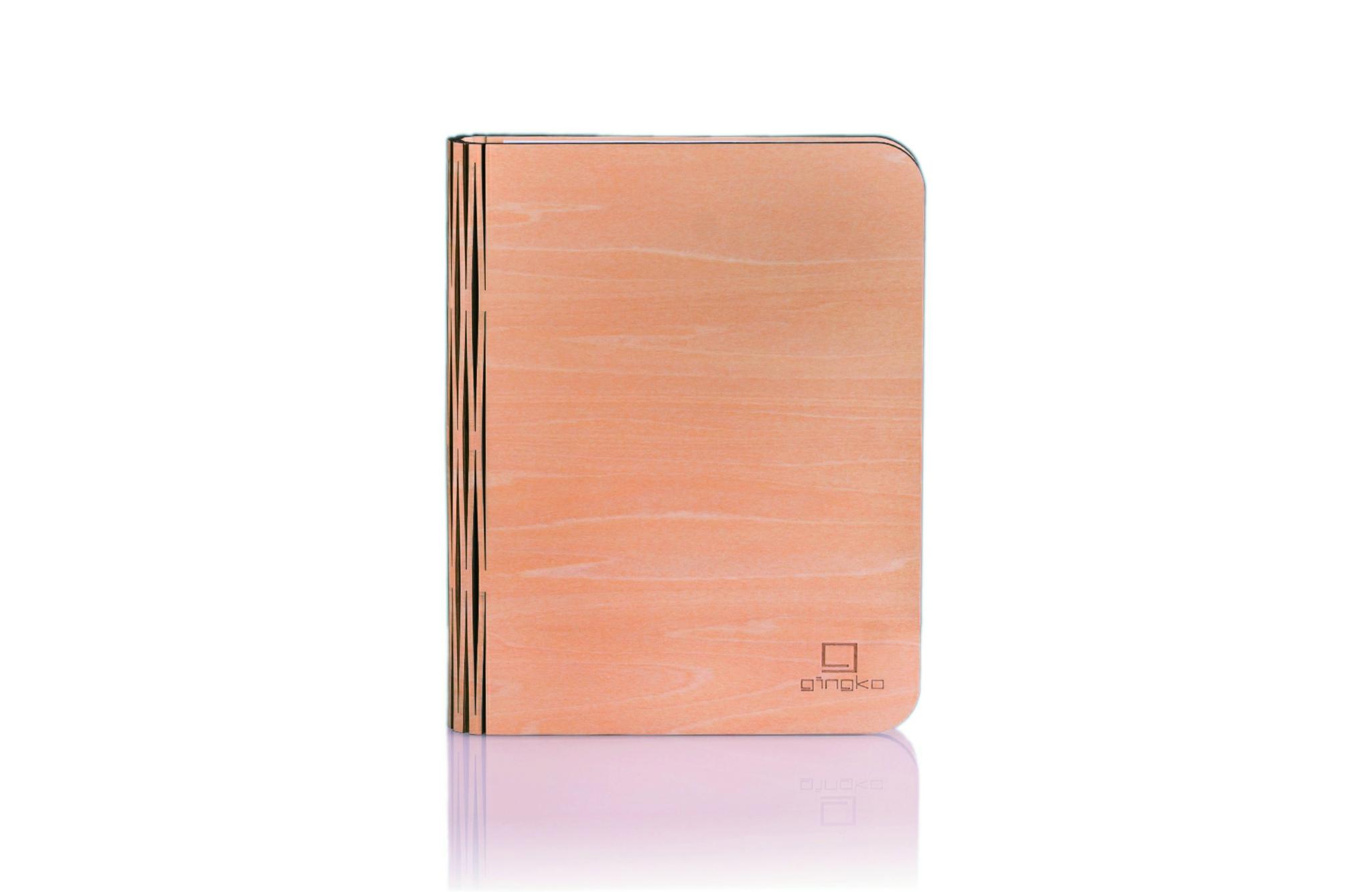 Wood maple gross, inkl. USB Ladekabel, warmes lich