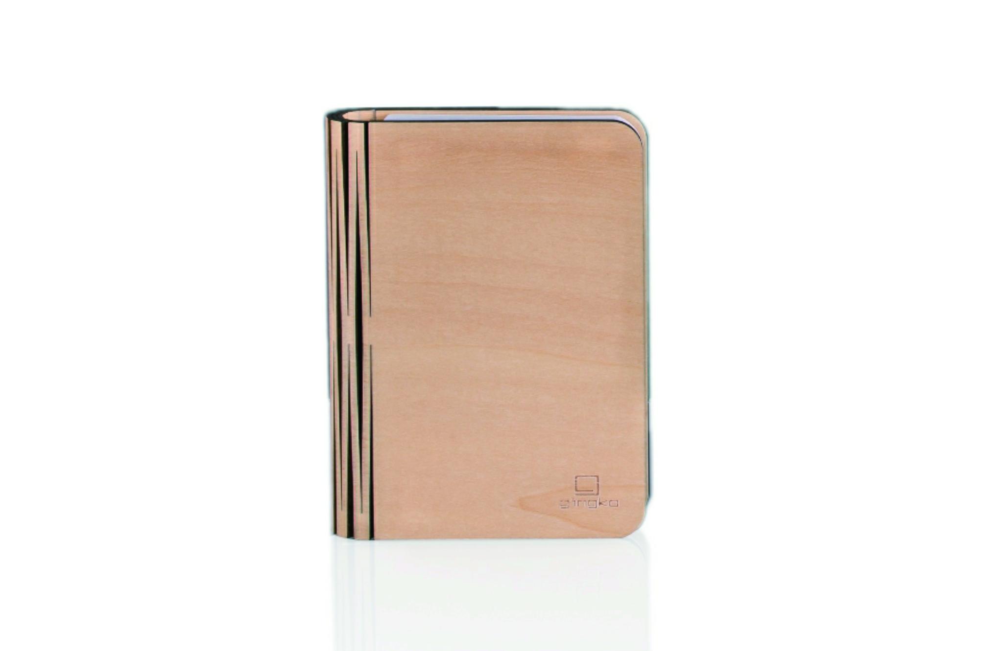 Wood maple klein, inkl. USB Ladekabel, warmes lich
