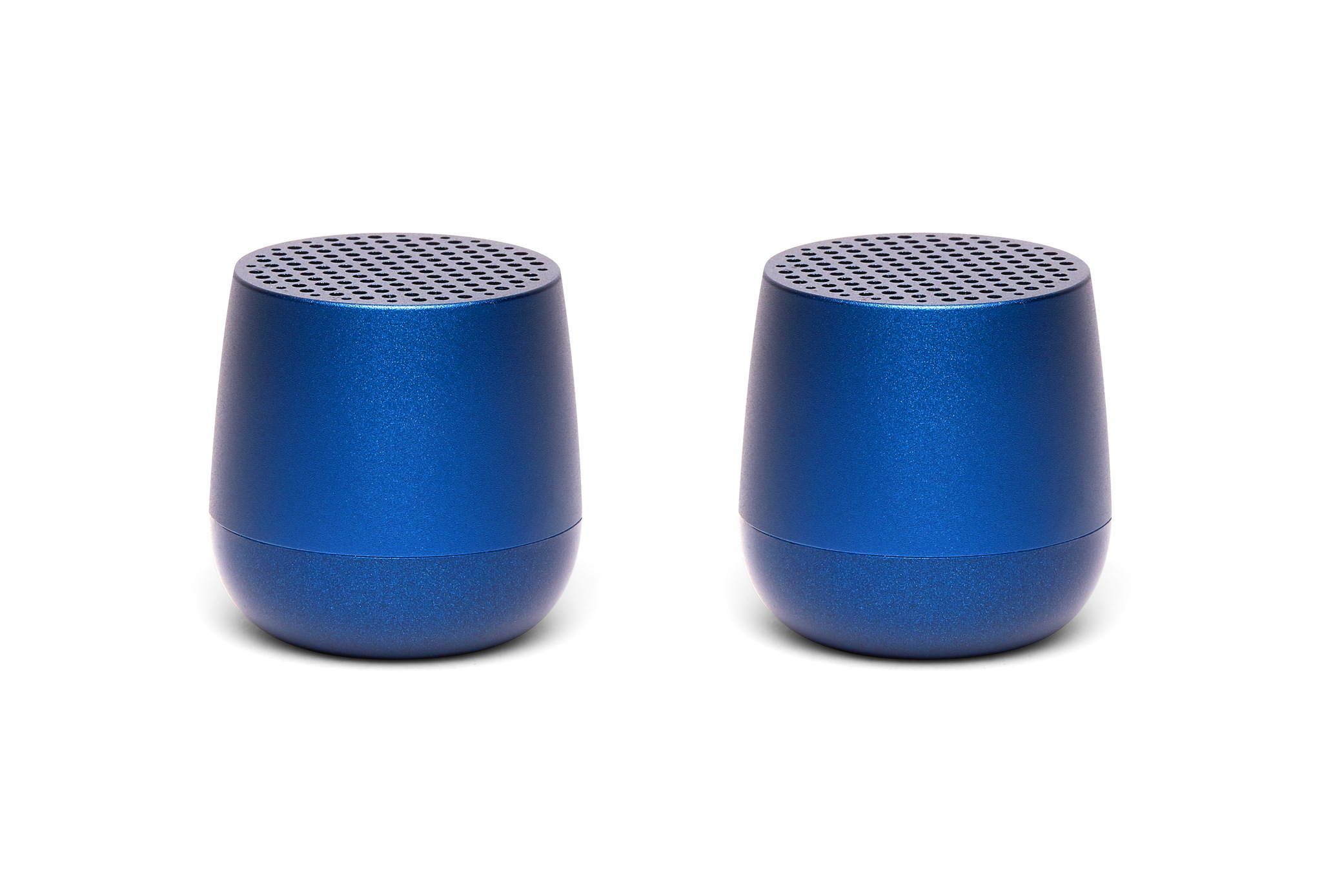 2er Set Mini-Bluetooth-Lautsprecher 3W, dunkelblau
