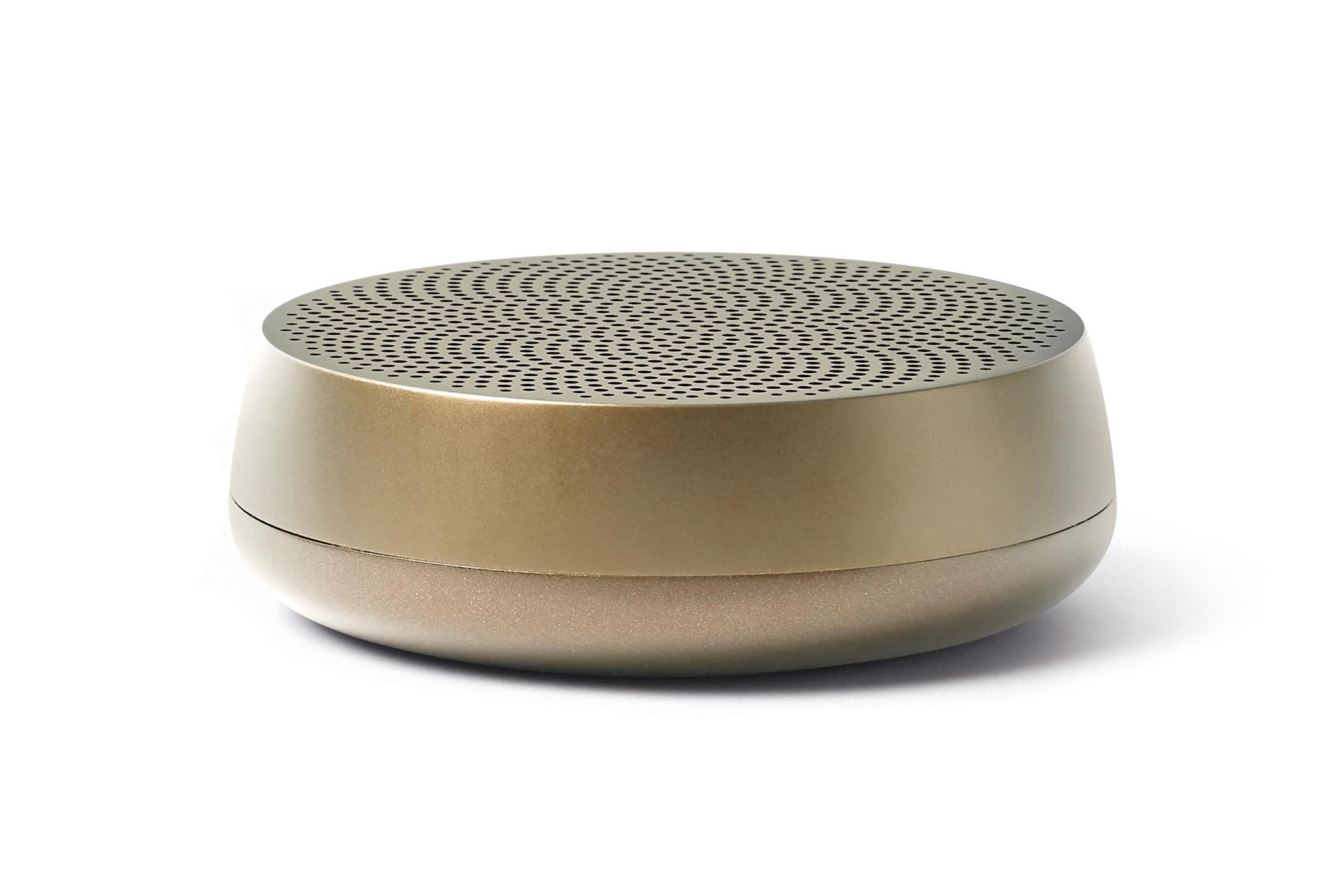 Mini-Bluetooth-Lautsprecher 5W, weiches Gold / Alu