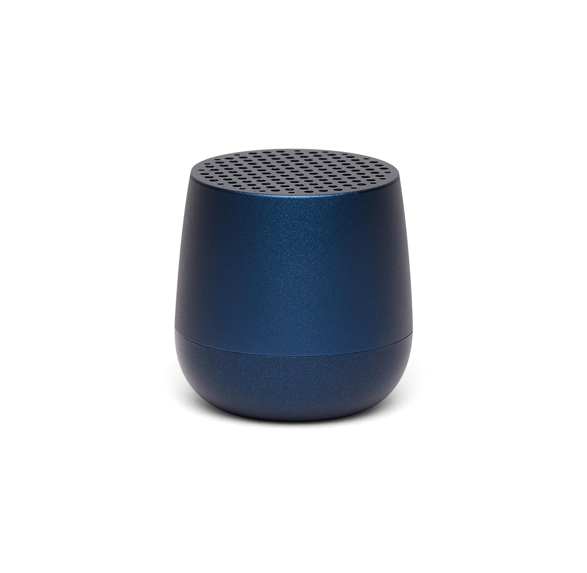 mini bluetooth-speaker 3W, dark blue, aluminium, k