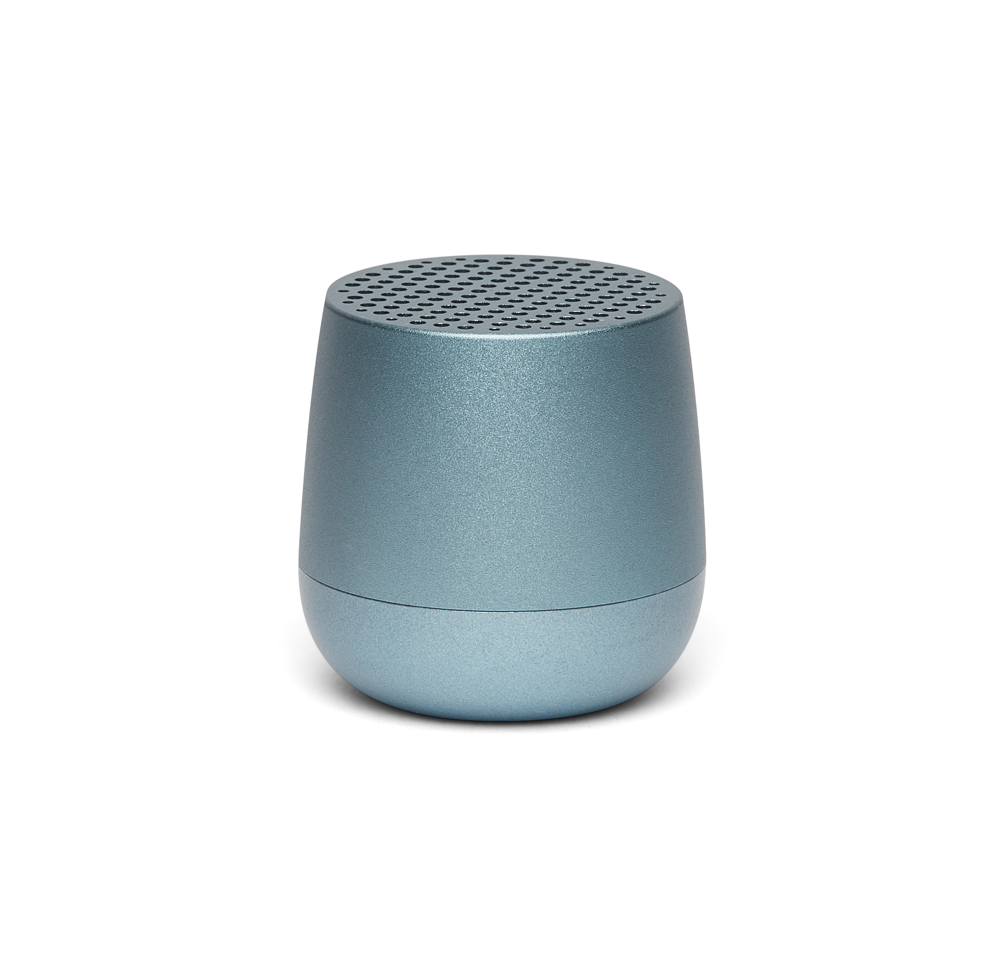 mini bluetooth-speaker 3W, light blue, aluminium,
