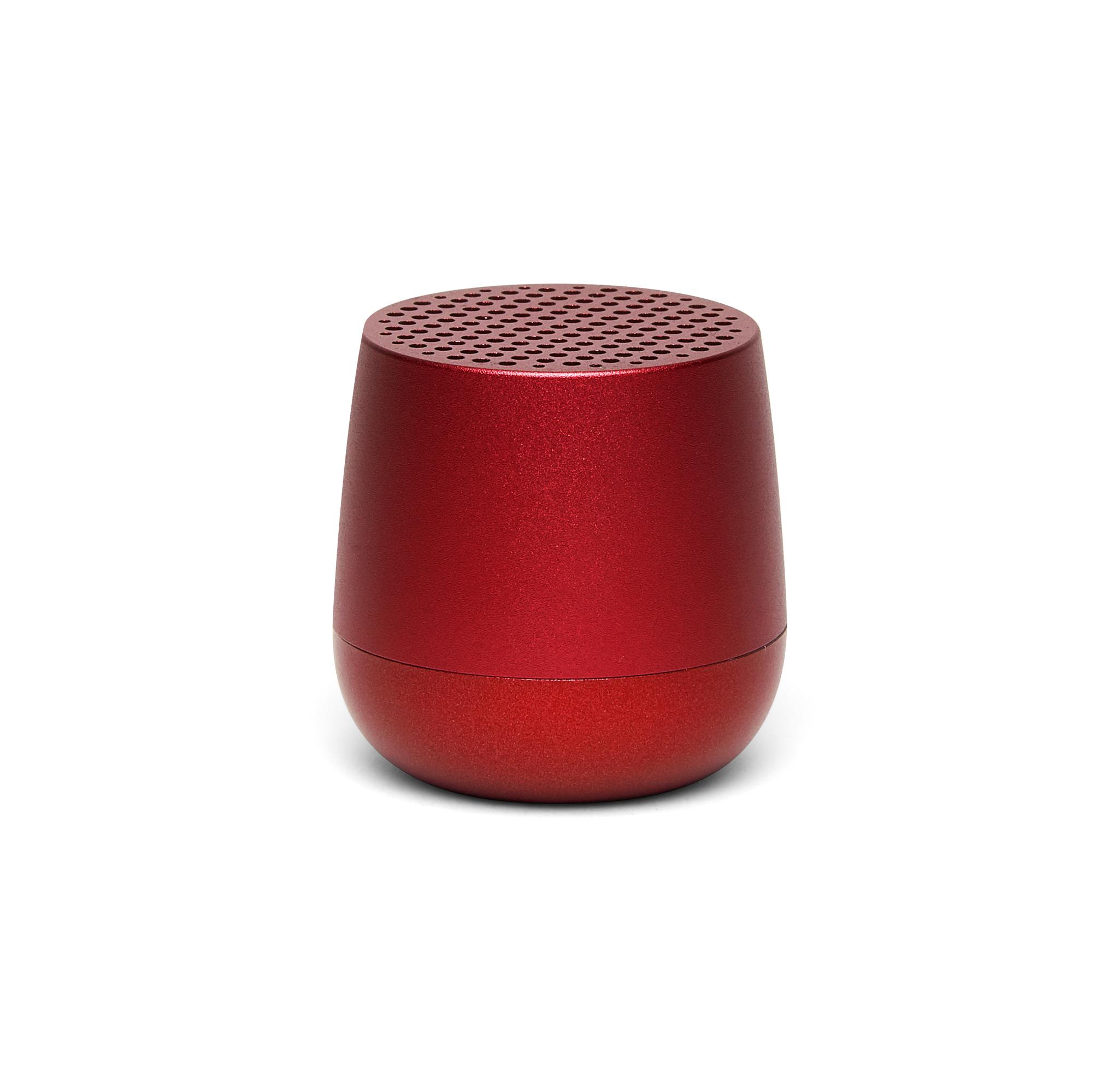 mini bluetooth-speaker 3W, red, aluminium, koppelb