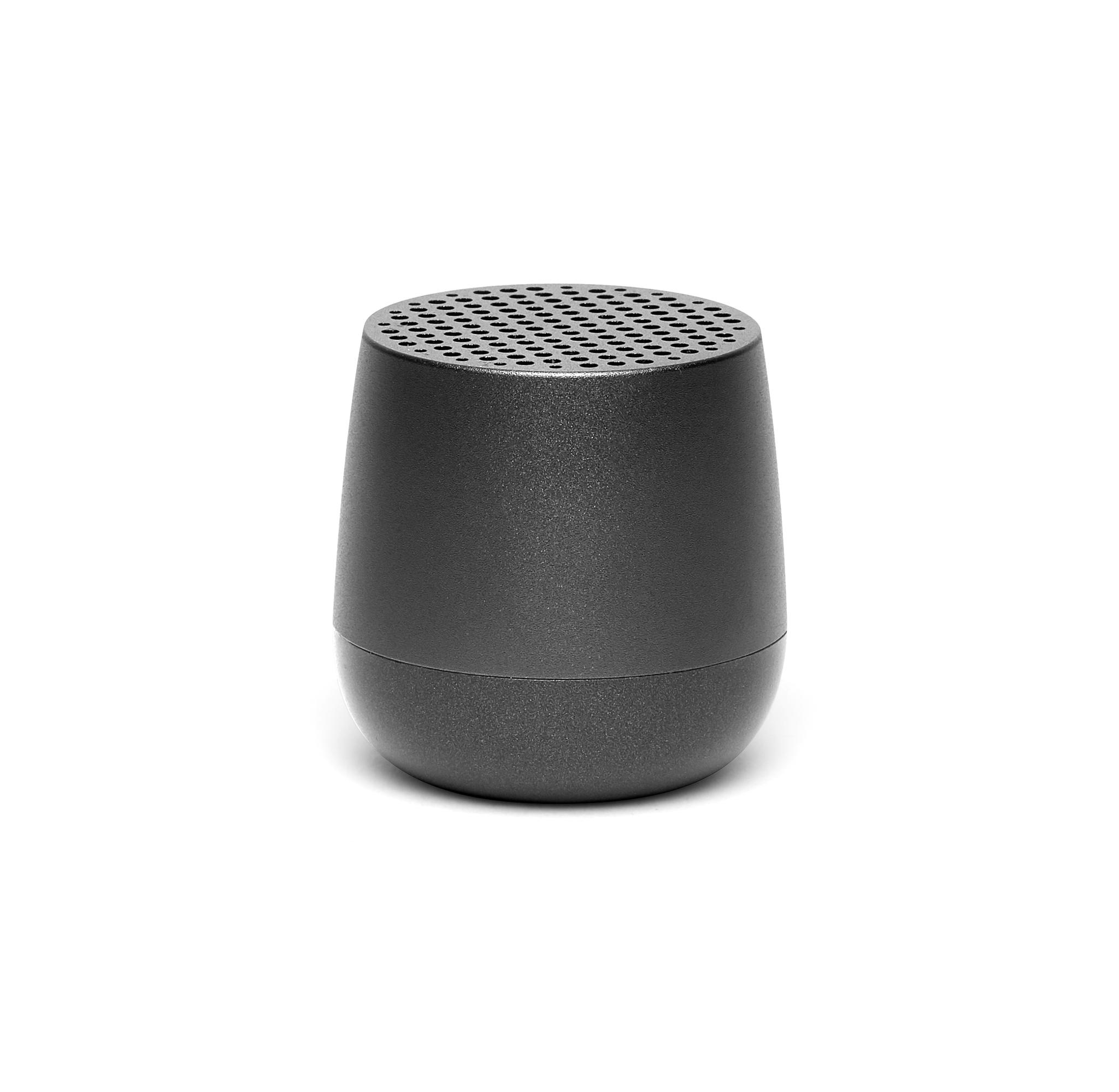 mini bluetooth-speaker 3W, gun metal, aluminium, k