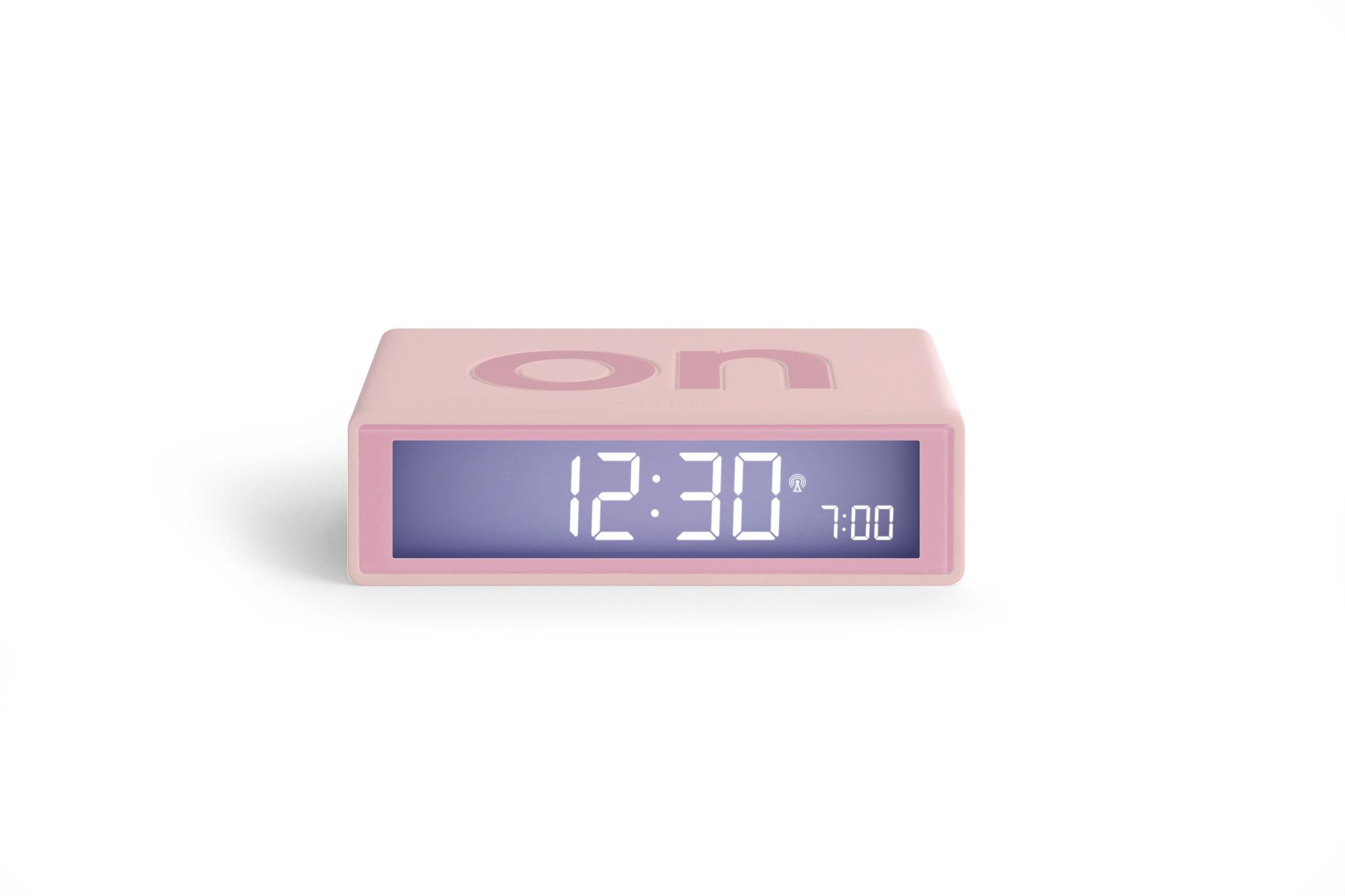 pink, funkgesteuert, LCD Display, snooze