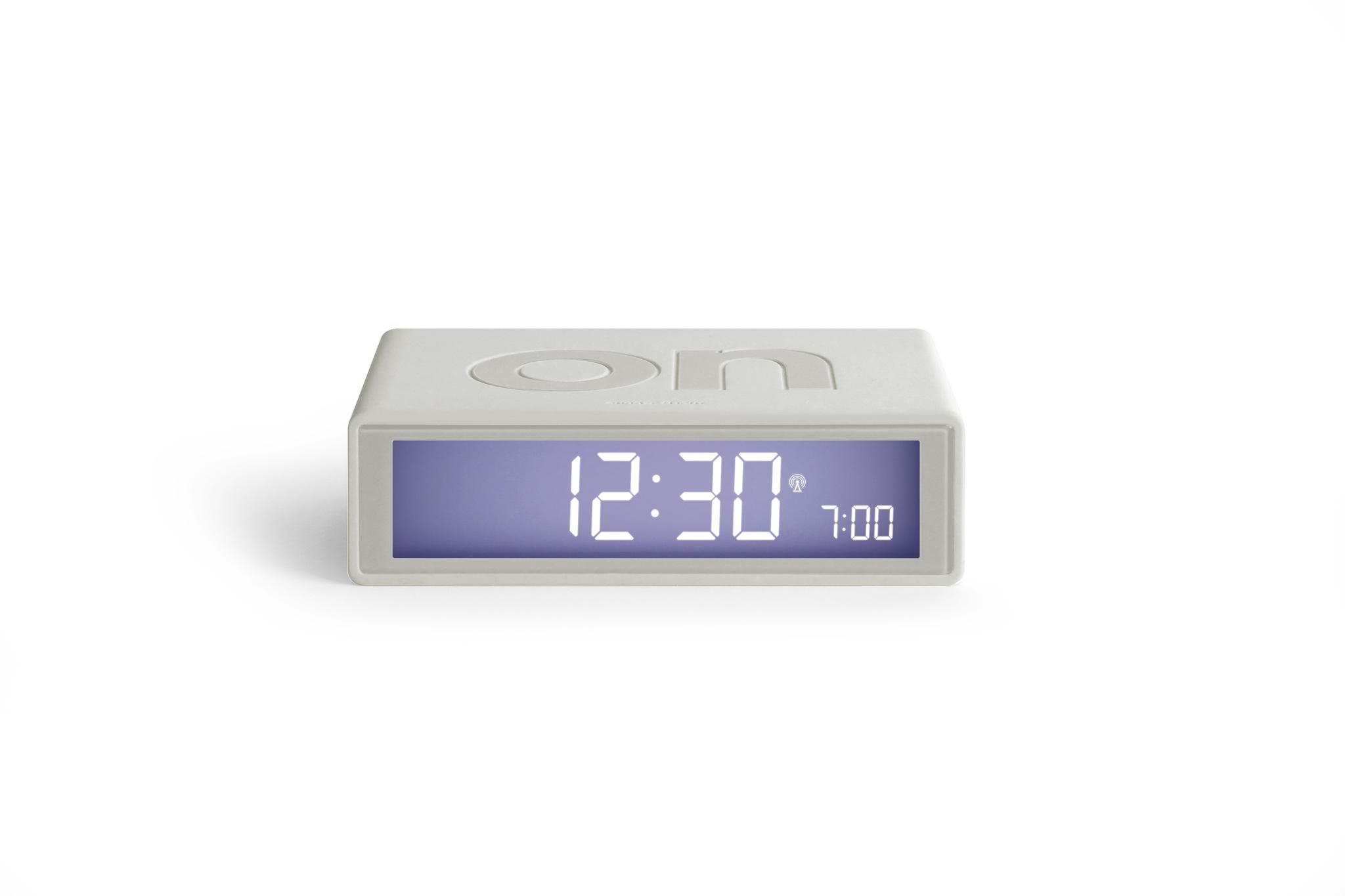 weiss, funkgesteuert, LCD Display, snooze