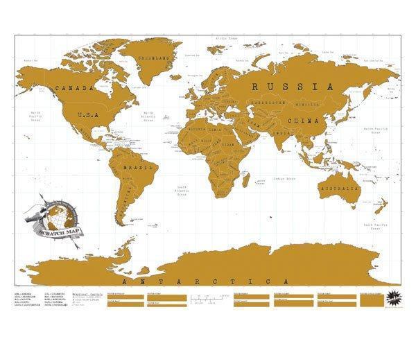 Personalisierbare Weltkarte, inkl. interaktives Lo