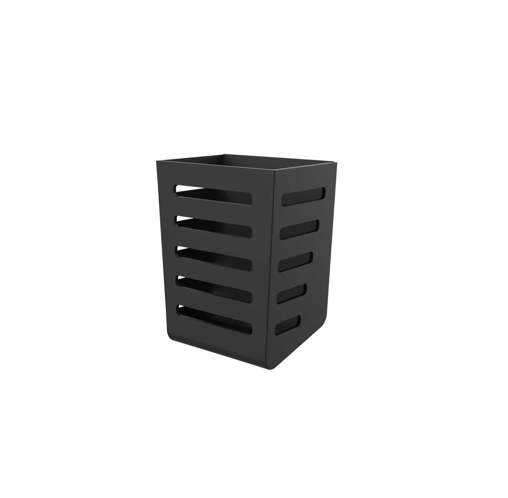 Besteck-Halter, ABS / black