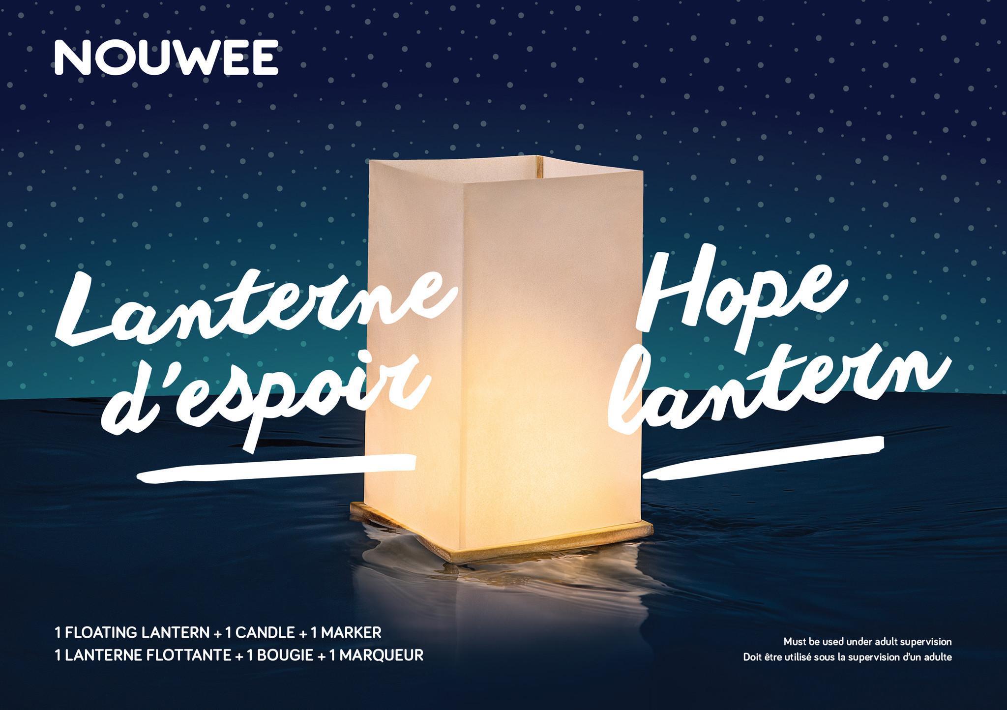 Hope Lantern - schwimmende Laterne