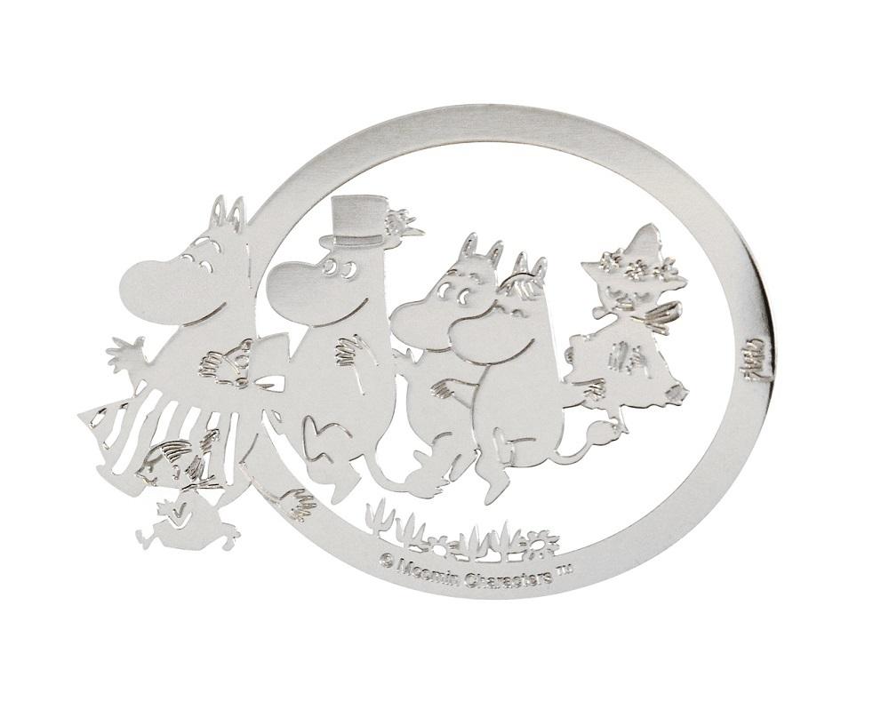 Book Clip Moomin Family