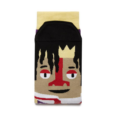 Basquiatoe - Motivsocken