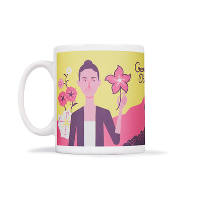 Georgia O'Coffee Mug - Tasse
