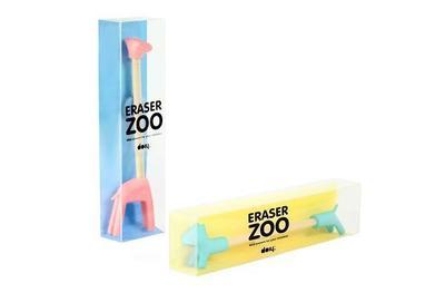 Zoo Eraser - Radiergummi's und Bleistifte