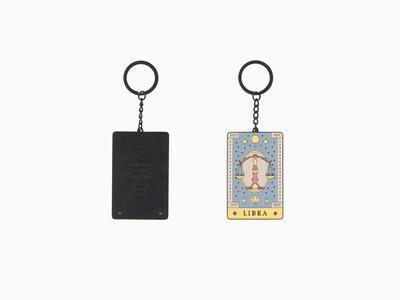 Zodiac Libra - Schlüsselanhänger
