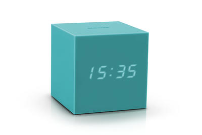 Gravity Cube Click Clock - Wecker