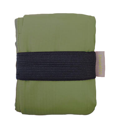 Compact 2 Way Shoulderbag - OLIVE -  Faltbare Schultertasche One-Pull (patentiert)