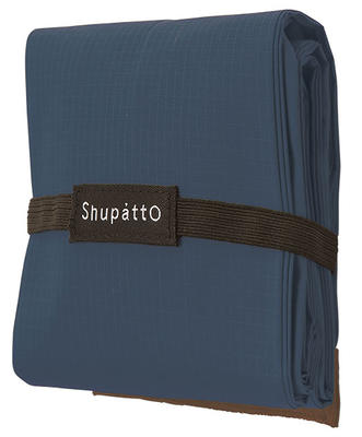 Compact Bag - DROP L - NAVY - Faltbare Tasche One-Pull (patentiert)