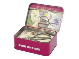 Gift in a Tin - Flower Pressing Kit - Geschenkbox