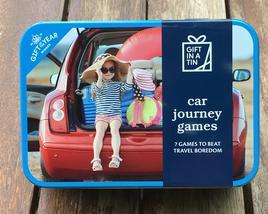 Gift in a Tin - Car Journey Games - Geschenkbox