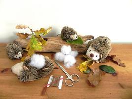 Gift in a Tin - Sew Me Up Hedgehog & Hoglet - Geschenkbox