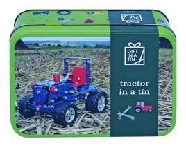 Gift in a Tin - Tractor in a Tin - Geschenkbox