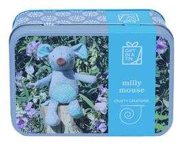 Gift in a Tin - Milly Mouse - Crafty Creatures - Geschenkbox