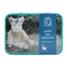 Gift in a Tin - Petal the Unicorn - Simple Sewing Kit - Geschenkbox