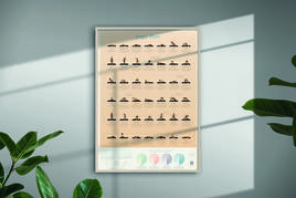 Calm Club - Yoga Flow Poster