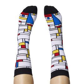 Feet Mondrian - Motivsocken