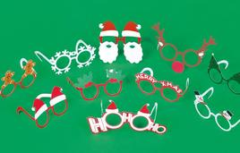 Party Glasses Christmas - Partybrillen