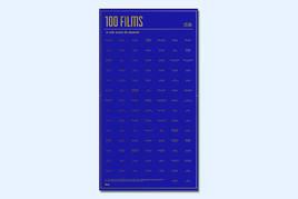 100 Films à Voir Avant De Mourir - Interaktives Poster