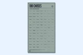 100 Choses à Faire Avant De Mourir - Interaktives Poster
