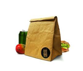 Brown Paper Bag - Lunch Bag