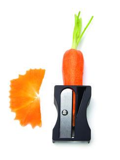 Karoto - Schäler und Zierspäne-Spitzer für Gemüse