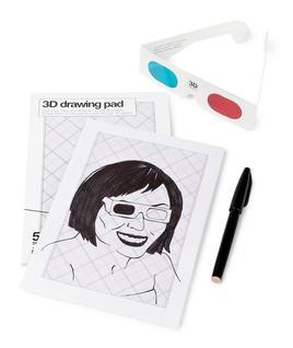 3D Drawing Pad - Notizbuch