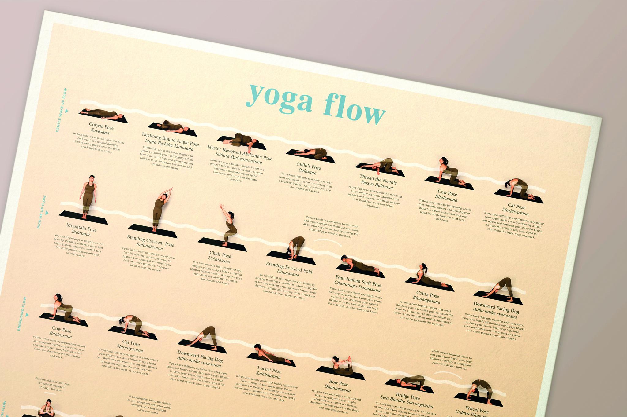 Calm Club   Yoga Flow Poster